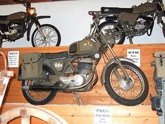 PUCH 250 MCH - 1969 (John Steam) Tags: 1969 austria ranger military bad ktm motorbike motorcycle oldtimer bora obersterreich puch militr motorrad ischl prototyp bundesheer lauffen teilemarkt 250mch