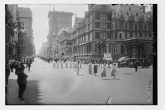 July 4th parade (LOC) (The Library of Congress) Tags: libraryofcongress dc:identifier=httphdllocgovlocpnpggbain27384 xmlns:dc=httppurlorgdcelements11 july41918 loyaltyparade 1918 newyork 5thavenue