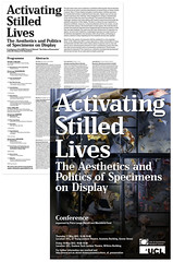 UCL Activating Stilled Lives Poster (Simon Sharville) Tags: artwork design layout poster invite newsletter ucl universitycollegeoflondon exhibition activatingstilledlives graphic