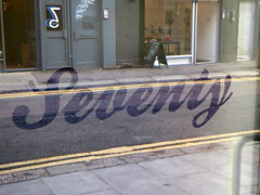 Seventy (duncan) Tags: seventy 70 number word shoreditch