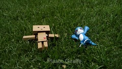 BOOMIE X VEEMON (PlasticGiraffe) Tags: toy toyphotography photography action actionfigures toyart toypics toys ac acba awesome adorable amazing japanese japanesetoys danbo danboard anime cute collectable