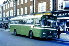 Slide 073-41 (Steve Guess) Tags: tcd483j southdown bristol resl marshall horsham carfax west sussex england gb uk bus