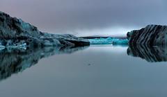 Icey Silence (Marshall Ward) Tags: iceland ice icebergs icebeach jkulsrln marshallward nikond800 afszoomnikkor2470mmf28ged landscape winter 2015