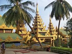 Shwedagon Pagoda, Yangon (2) (Sasha India) Tags: myanmar yangon temple journey buddhism
