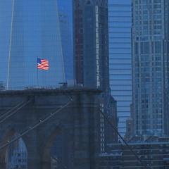 Square of Blue (Keith Michael NYC (1 Million+ Views)) Tags: manhattan newyorkcity newyork ny nyc manhattanbridge brooklynbridge