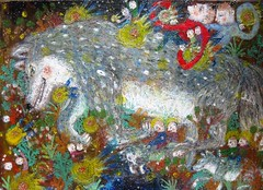 (bettycat) Tags: artcolourflowerdoll painting falling star colour chinese children child china hongkong japan kyoto people fineart drawing illustration wolf