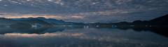 What a start to the day! (Frank Busch) Tags: frankbusch frankbuschphotography imagebyfrankbusch photobyfrankbusch greenland ice icebergs kayaking landscape narsaq paddling reflection