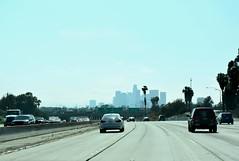 LA and surrounding areas (jaffa600) Tags: california californiarepublic cali la losangeles cityofangels downtown downtownla city traffic rushhour interstate highway freeway buildings skyscrapers
