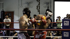 Hook (Foto Hause) Tags: fight hit kick box ring gloves thai fans punch ropes boxing hook fighting gym muay kickboxing pads