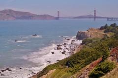Ends Land 3 (luco*) Tags: usa states californie california san francisco pacific ocean ocan pacifique mer sea golden gate bridge pont park parc lincoln tatsunis united america damrique amrique
