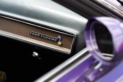 DSC_4872 (Joshishi) Tags: auto show road car emblem nikon df memorial day purple stadium dash dashboard runner hillsboro veterans 105mmf28dmicro