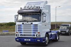 Hughes International Scania R143m XIB 96 (truck_photos) Tags: