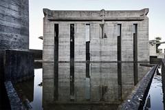 (ilConte) Tags: reflection cemetery graveyard architecture architektur architettura brion treviso scarpa cimitero brionvega carloscarpa sanvitodaltivole