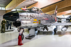 North American F-86D Sabre   'F-421' (JohnC757) Tags: denmark sabre danmark f86d rdaf royaldanishairforce stauning flyvevbnet stauninglufthavn f421 northamericanf86dsabre danmarksflymuseum httpflymuseumdkfly