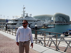 Living large at Yas Marina, Abu Dhabi!