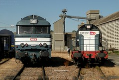 BB68081 & 66170 (- Oliver -) Tags: train diesel bleu locomotive sncf bb66000 bb68000 bb68081 bb66170