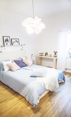 Visningslägenhet - sovrum