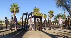July 08, 2016 (348/365+3) (gaymay) Tags: california gay sculpture love desert coachellavalley ranchomirage riversidecounty cancersurvivorspark