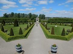 Garden Symmetry (mikecogh) Tags: dublin garden path trimmed symmetry museumofmodernart balance neat hedges urns