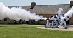 BOOM! (Funkomaticphototron) Tags: minnesota smoke boom historic cannon loud mn fortsnelling soliders coryfunk 3awpt