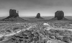 Monument Valley_BW (Kool Cats Photography over 8 Million Views) Tags: travel arizona landscape photography historic valley navajoland monumentvalley themittens canoneos6d