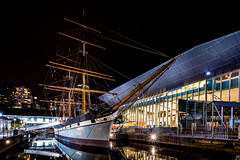 Mega Yacht (yimING_) Tags: classic water night canon evening ship cityscape yacht melbourne exhibition canoneos5dsr