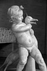 Boy with goose (just.Luc) Tags: boy bw sculpture germany naked nude munich mnchen bayern deutschland bavaria child nu nb goose bn gans nackt escultura allemagne junge duitsland garon nudo desnudo zw oie naakt jongen beieren bavire