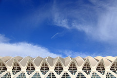 pointed at the blue sky (Andrew Eadie) Tags: las santiago espaa valencia de spain europe calatrava museo cac felipe valenciana palacio principe ciences andreweadie communitat canonefs1585mmf3556isusm
