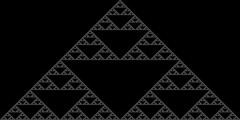 Cellular Automata - Sierpinski Triangle (nmmmnu) Tags: cellular automata fractal gasket sierpinski triangle