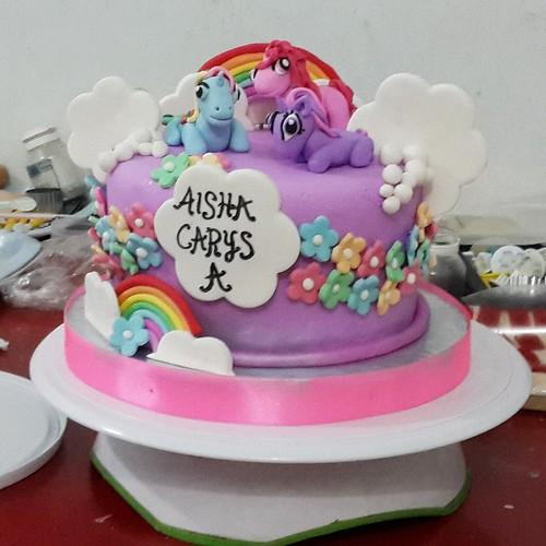 Cake Ulang Tahun Imut My Little Pony Jakarta A Photo On