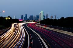 Chaos (aditya.basrur) Tags: dallas skyline texas dfw lighttrails longexposure city dallasbig