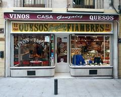 Casa Gonzalez (neppanen) Tags: madrid shop restaurant spain tapas storefront vinos quesos espanja fiambres discounterintelligence casagonzalez sampen