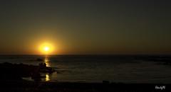 Meakoz Sunset Orange (ekaitzas) Tags: sunset paisajes beach playa euskalherria euskadi basquecountry paysbasque pasvasco sopelana barrika uribekosta sopela meakoz