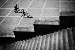 Random elements (ValeriaBD) Tags: life street urban blackandwhite bw paris france monochrome bicycle mono daylight nikon outdoor geometry atmoshere d7000