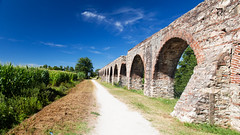 Viaduct (ken Dowdall) Tags: viaduct architecture archs italy tuscany landscape bridge blueskies