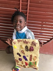 Evencia Volce 4 (Haiti Partners) Tags: haiti entrepreneurship socialbusiness childrensacademy july 2016 papermaking