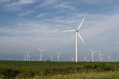 Wind Farm July 2016 (A  Train) Tags: turbine windturbine indiana electricity sunrise nikond750 nikon windmill meadowlakewindfarm bluesky farm wind