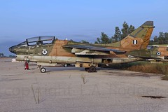 TA7 156787 (TF102A) Tags: aviation aircraft greekairforce corsair hellenicairforce araxos a7 abandoned scrap junk