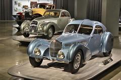 The New Petersen Automotive Museum (USautos98) Tags: 1936 bugatti type575c atlantic 1938 bentley 414litre embiricos 1930 rollsroyce phantomi windblown coupe