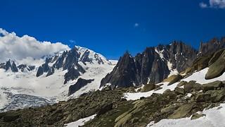 From la Tour Ronde, Grand Capucin, Aig du Diable, Mont-Blanc, the Vallée Blanche, Envers des Aiguilles Chamonix MontBlanc !