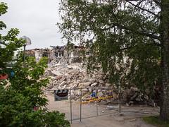 Ehnroosin rauniot (MikeAncient) Tags: mntsl finland suomi ehnroosinkoulu koulu school purku demolition rakennus building buildings