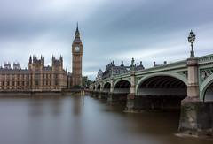 Ben in colour (Alan Reeve) Tags: bigben london westminster thames longexposure tower bridge