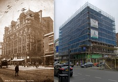 Dale Street, 1907 and 2016 (Keithjones84) Tags: liverpool oldliverpool thenandnow rephotography merseyside architecture history