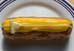 Passion Fruit Eclair (Tony Worrall Foto) Tags: add tag 2016tonyworrall images photos photograff things uk england food foodie grub eat eaten taste tasty cook cooked iatethis foodporn foodpictures picturesoffood dish dishes menu plate plated made ingrediants nice flavour foodophile x yummy make tasted meal passion fruit eclair
