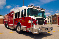 Level Volunteer Fire Company Rescue 151 (Triborough) Tags: md maryland cecilcounty elkton lvfc levelvolunteerfirecompany firetruck fireengine rescue rescue151 spartan 4guys