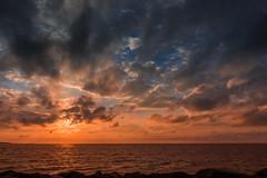 I miss sunsets.... (Massimo Buccolieri) Tags: sunset blue red sky hundested capitalregionofdenmark denmark dk