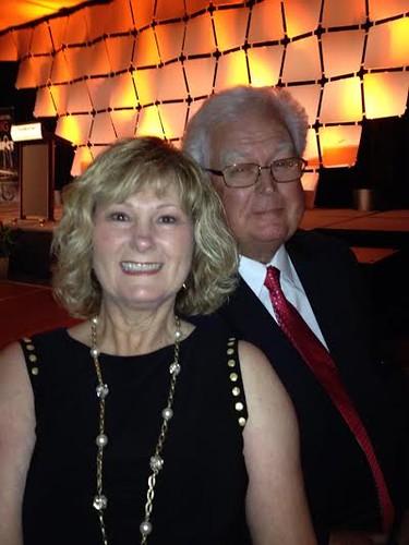 Ed & Cheryl at Evolv Gala Dinner