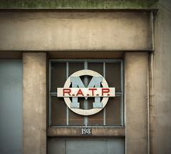 R.A.T.P (Pixdar) Tags: seinesaintdenis saintdenis carrefourpleyel ligne13 ratp logo logotype