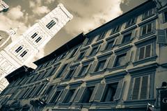 Firenze (salvatoretinteri) Tags: pussy nude money tits sex ass porn prospettiva cielo grigio nero bianco effetto italia toscana classica architettura citt arte campanile giotto duomo florence firenze