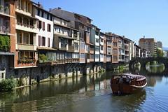 L'Agout  Castres (Michel Seguret Thanks all for 9.400 000 views) Tags: france tarn michelseguret nikon d800 pro castres ville agout rivire river bateau boat maison house haus stadt citta ciudad